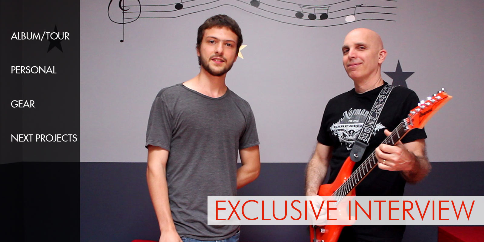 Interview exclusive de Joe Satriani 2014