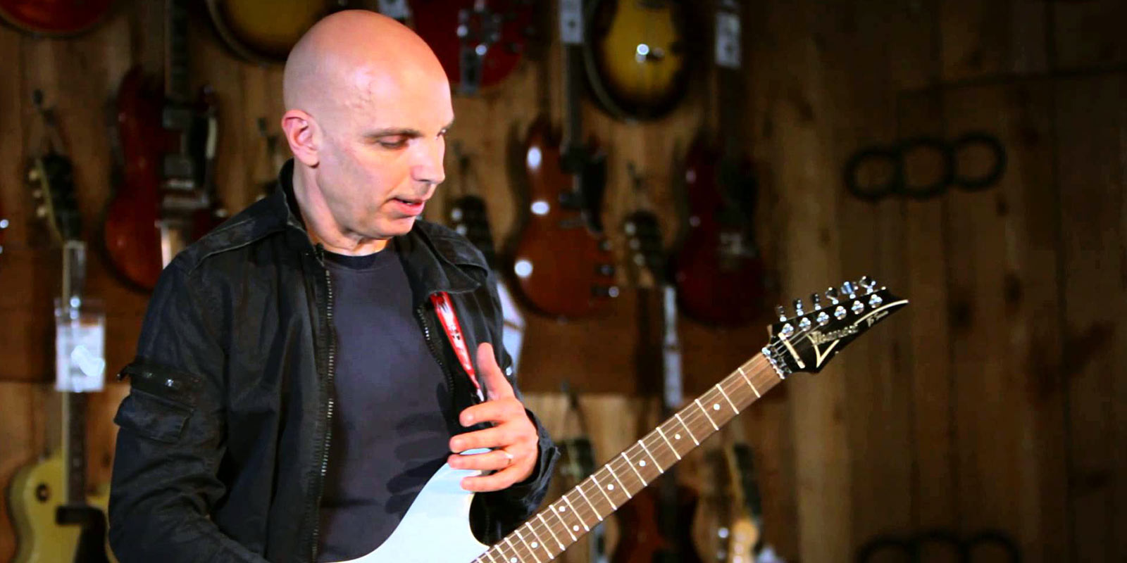 Joe Satriani Masterclass à Guitar Center