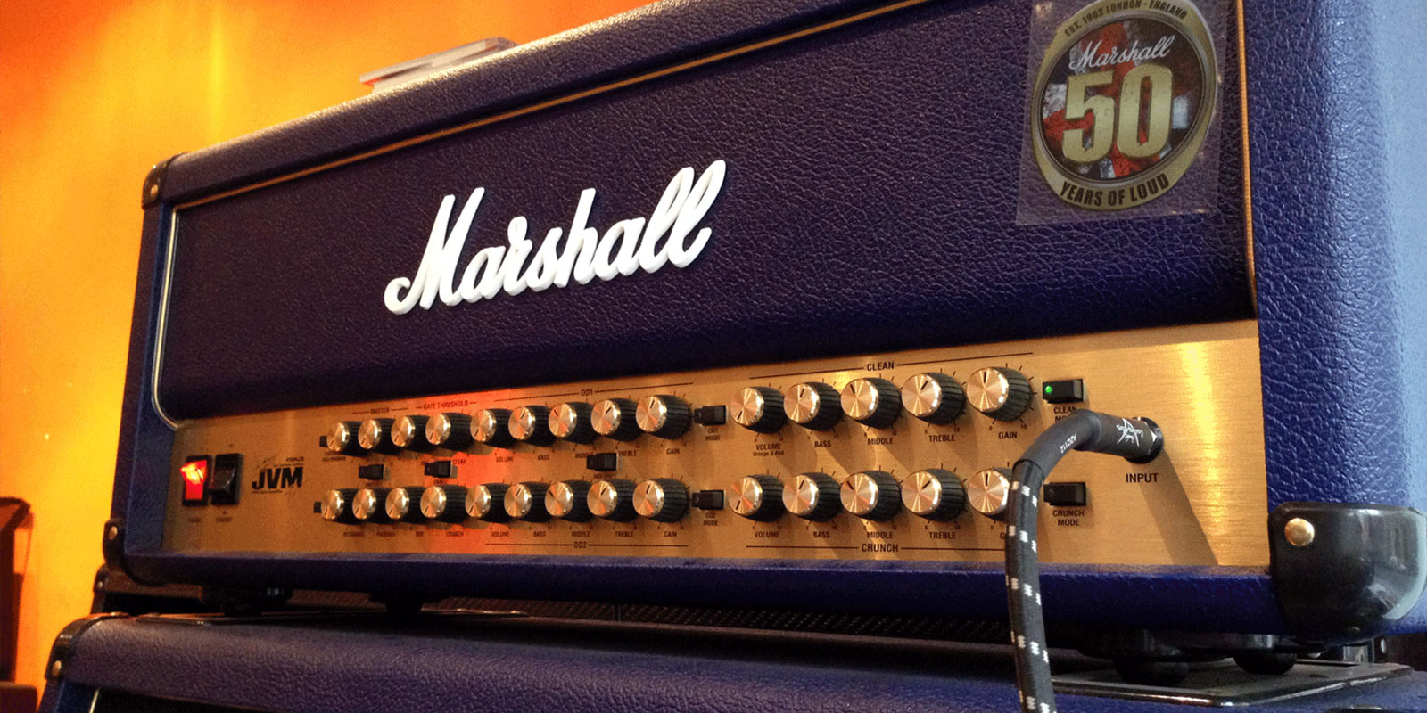 Test du Marshall JVM410HJS signature Joe Satriani