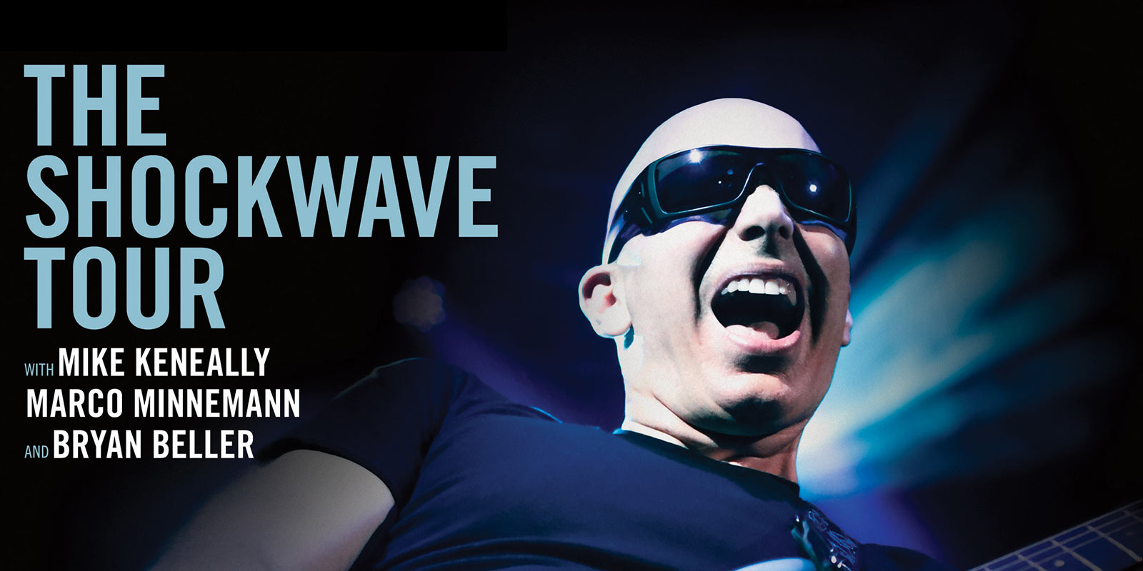 Tournée 2015 Joe Satriani Shockwave Tour